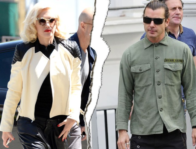 Gwen Stefani files for divorce from Gavin Rossdale after 13 years of marriage and three children Source: REX Features Credit: METRO