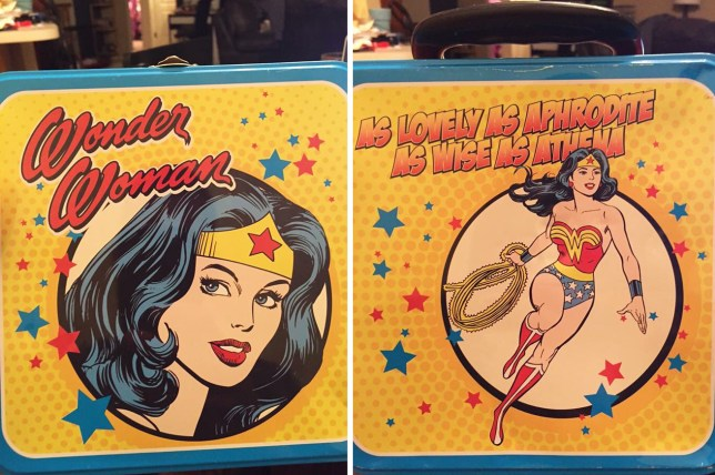 Wonder Woman lunchbox and letter Letter a friend of mine's daughter received from school today. Her Wonder Woman lunchbox features a violent super hero that does not comply with the school's dress code. Credit: Reddit/DlAVV