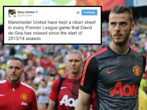 Incredible stat shows Manchester United can cope with David de Gea making Real Madrid transfer