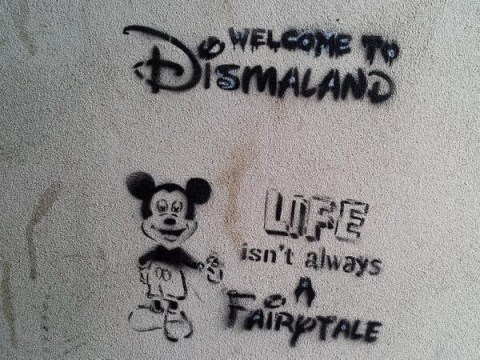 Banksy's new Dismaland show in Weston-super-Mare looks dark and epic