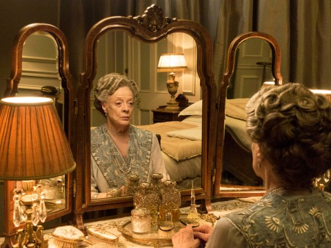 Downton Abbey's Dame Maggie Smith: 'Hopefully I'll be around for the movie!'