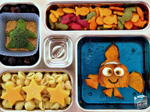 This dad's lunchboxes will put your midday meal to shame