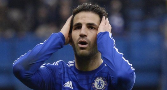 Cesc Fabregas is a 'weak link' for Chelsea claims Paul Canoville (Picture:Getty)
