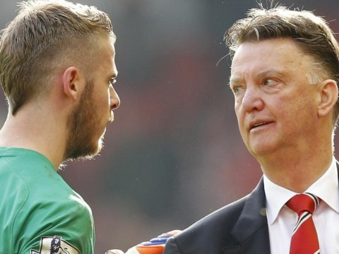 Manchester United goalkeeper David de Gea admits it's hard to be friends with Louis van Gaal