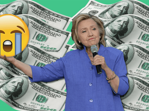 Hillary Clinton asked people to sum up how they feel about student debt in emojis