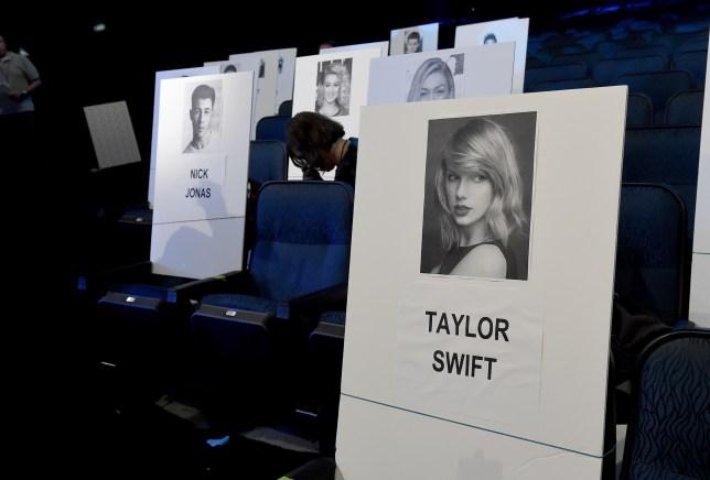 Taylor Swift VMAs seating