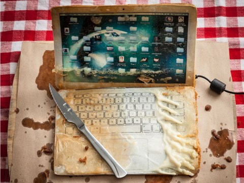 This artist deep fries gadgets to highlight our disposable culture