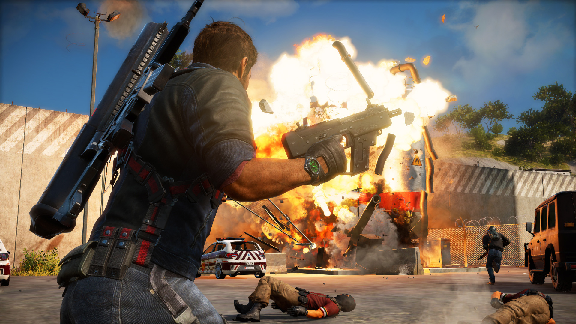 Just Cause 3 - it blows stuff up real good
