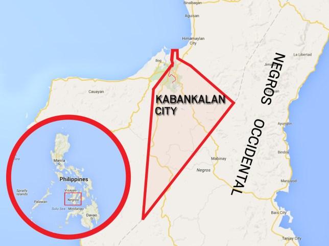 Kabankalan City, Philippines (Picture: Google)