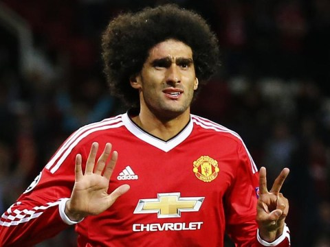 AC Milan rule out a move for Manchester United's Marouane Fellaini