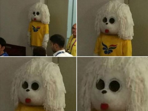 The mascot for the 2017 World Swimming Championships is the most harrowing thing you will ever see