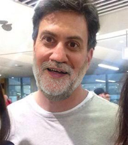 Ed Miliband - various different types of beard Milibeard