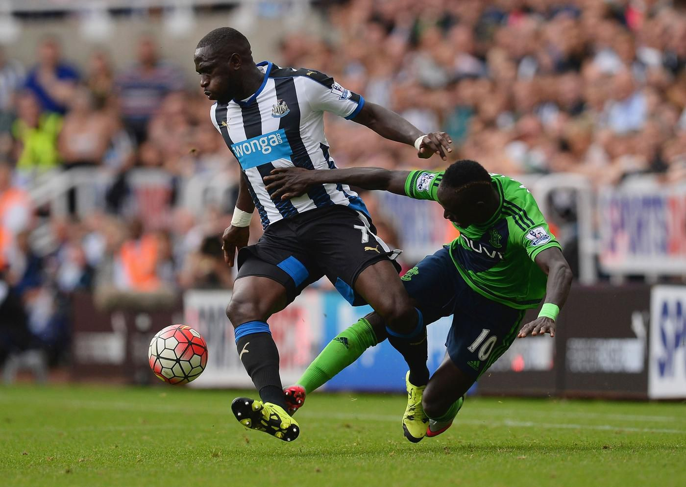AC Milan 'aim to beat Arsenal, Chelsea and Liverpool to Newcastle star Moussa Sissoko'