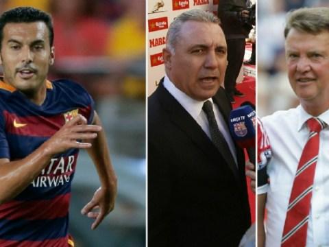 Hristo Stoichkov tells Pedro to reject Manchester United transfer or 'mediocre' Louis van Gaal will ruin him