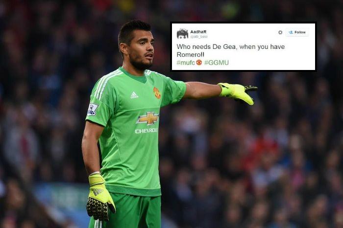 Manchester United fans urge Louis van Gaal to sell David de Gea after Sergio Romero performance v Club Brugge