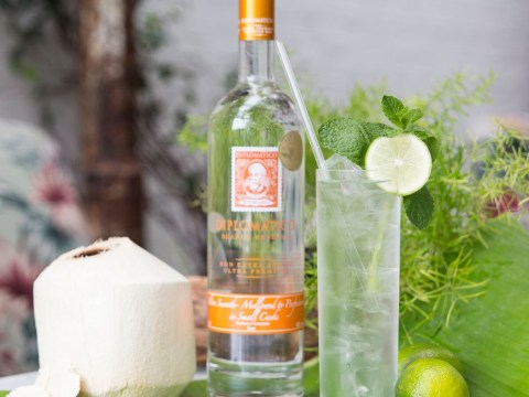 Sorry vodka soda lime, meet our new detox-retox drink: Rum, coconut water and mint