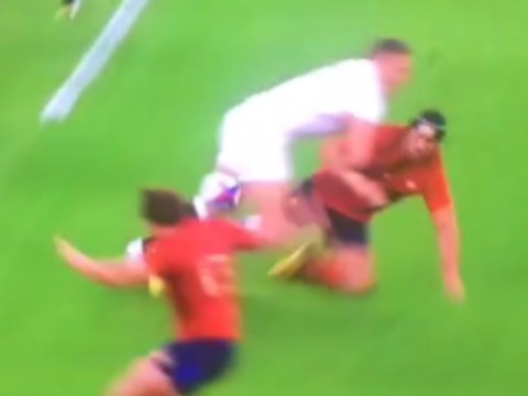 England's Sam Burgess warms up for Rugby World Cup by destroying France stars with huge hits