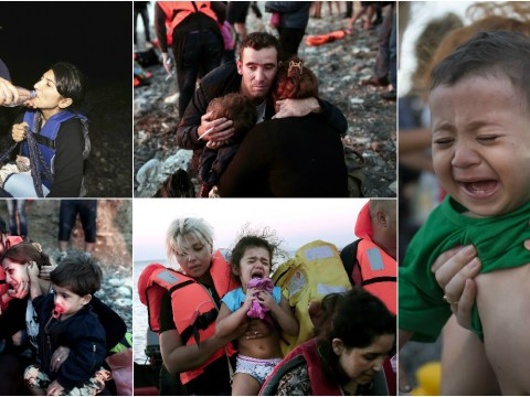 Harrowing pictures from Kos that show the desperate plight of Syrian refugees