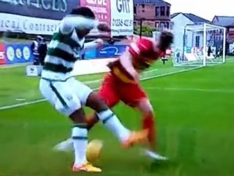Celtic's Virgil van Dijk beats defender with ridiculous skill v Partick Thistle