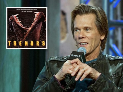 Kevin Bacon is totally up for rebooting cult horror classic Tremors