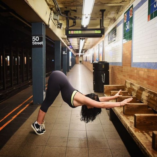 Claire Fountain's Trill Yoga is the badass version of yoga