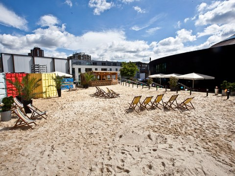 This urban beach is the answer if you can't afford to go on holiday this year