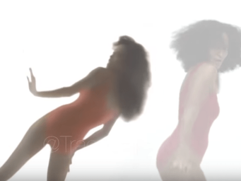 Diana Ross's daughter recreated her Work That Body video to boost her body confidence