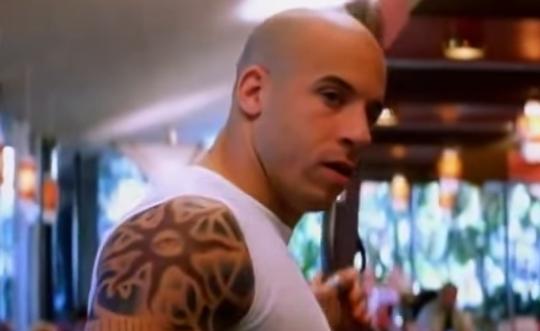 xXx movie still Vin Diesel