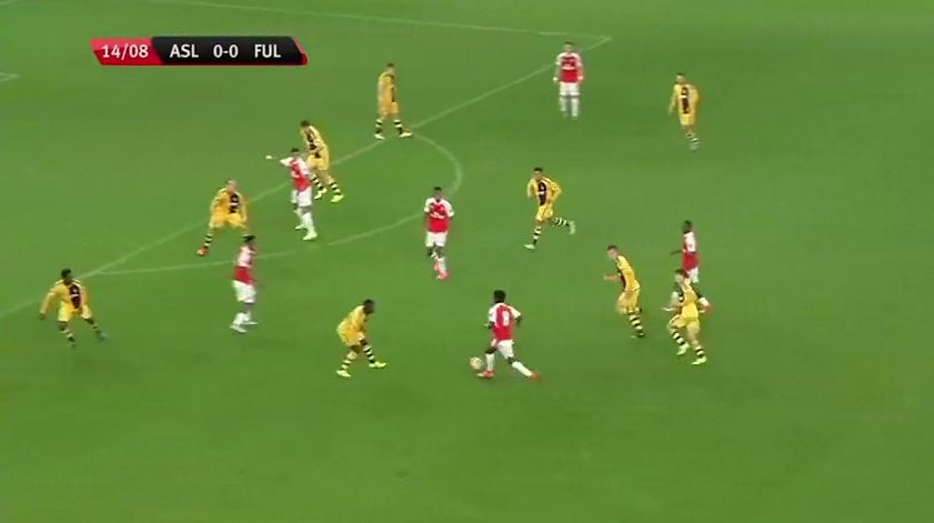 Arsenal's Gedion Zelalem finishes off incredible team goal for Under-21s