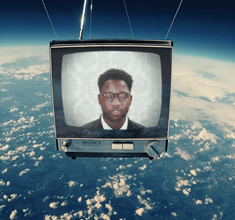This music video from singer Kelvin Jones was made in space
