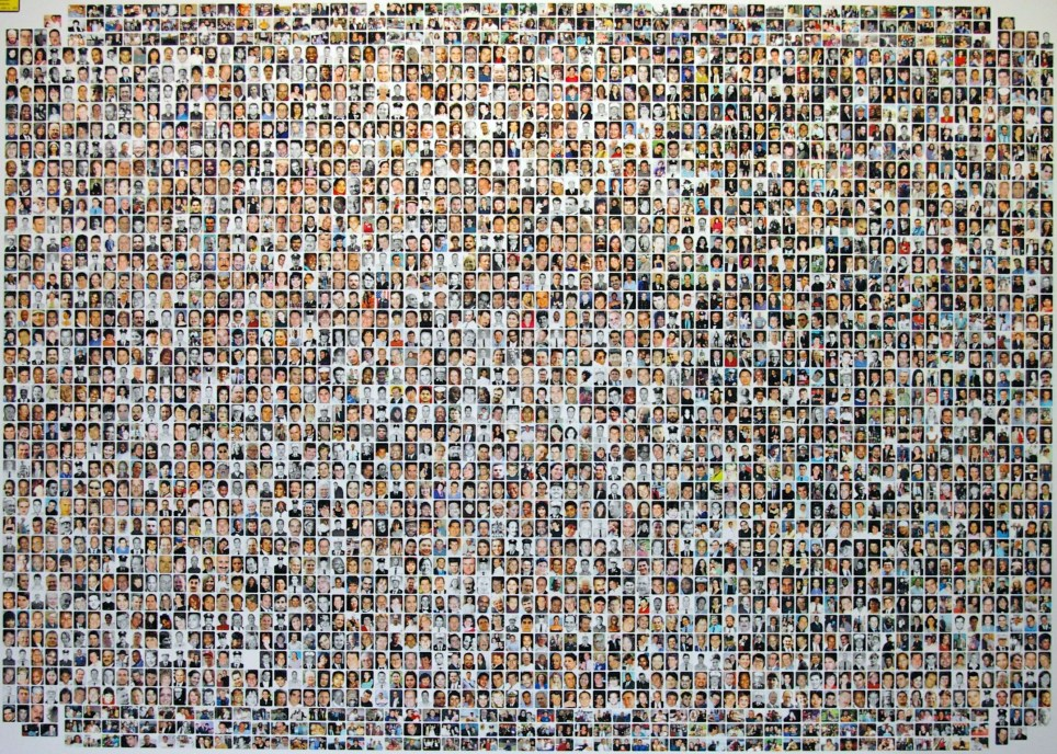 Picture showing victims of 9/11