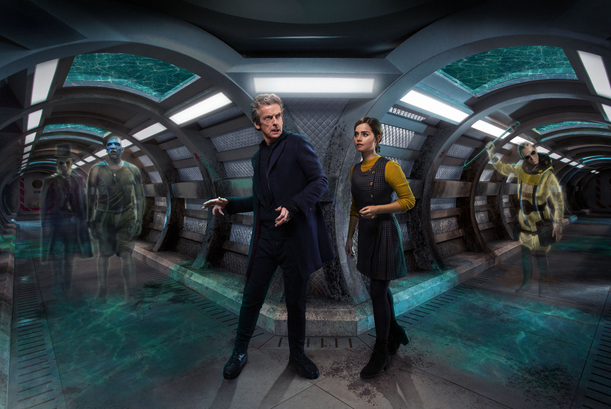 Doctor Who, series 9, episode 3, After the lake by Toby Whithouse