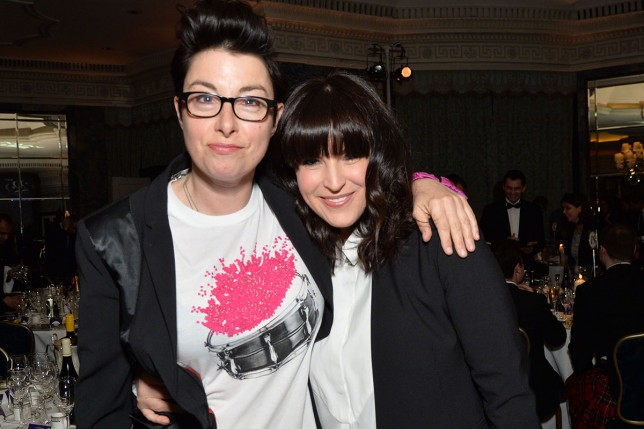 Sue Perkins left shocked by doctor's homophobic slur as she was told she's infertile