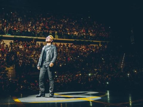 Bono changes the chorus of U2 song to honour tragic Syrian boy during emotional gig