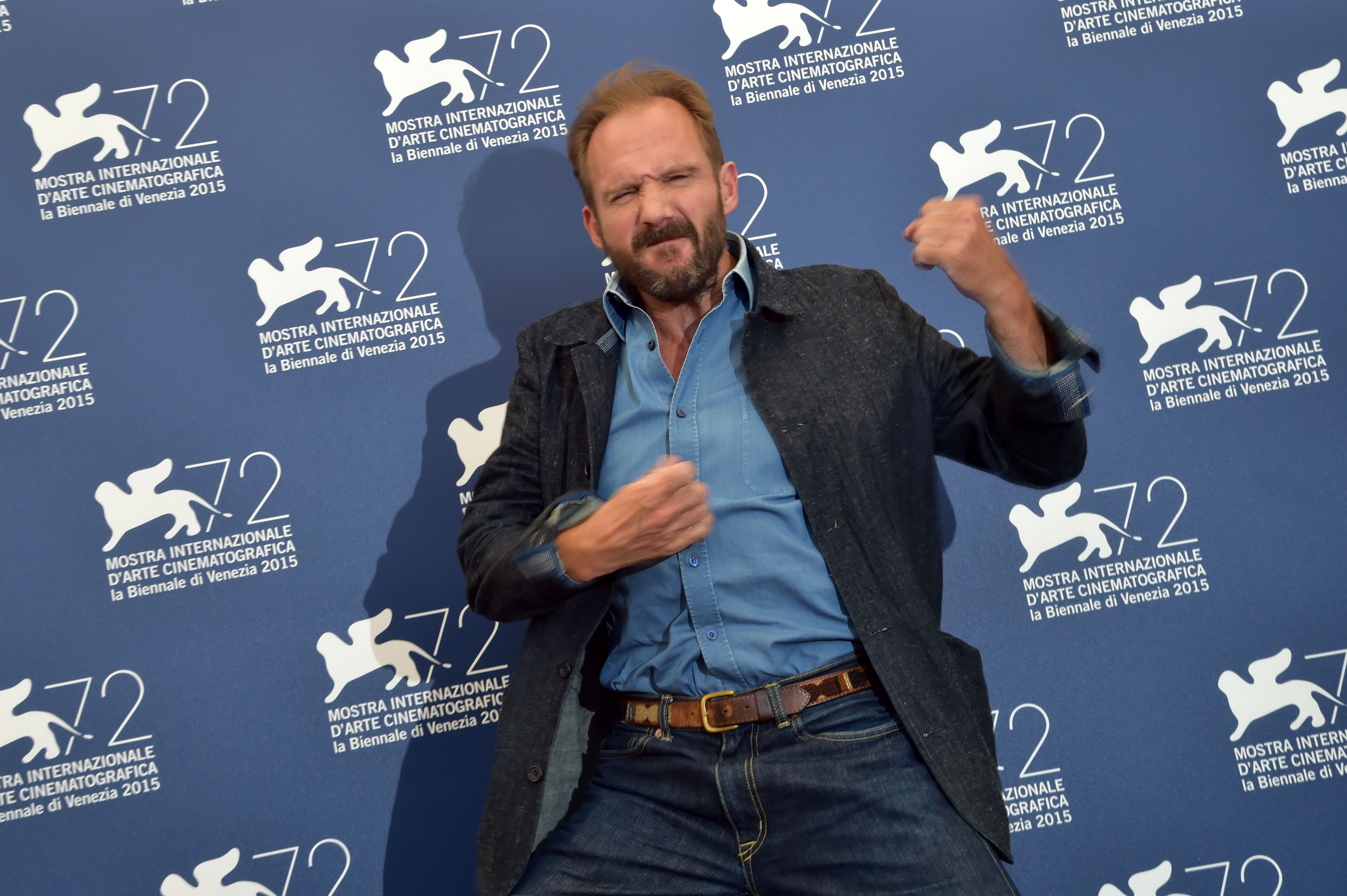 Voldemort was throwing some Fiennes shapes at Venice Film Festival