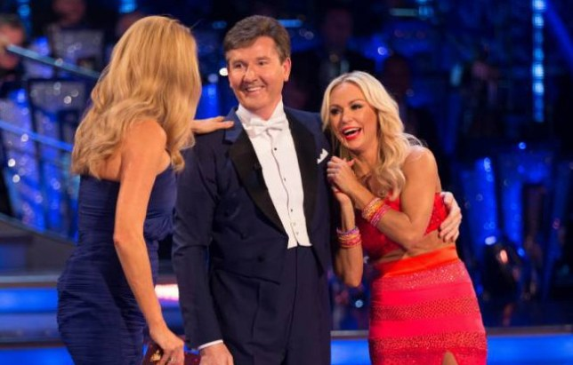Embargoed to 2035 Saturday September 5 For use in UK, Ireland or Benelux countries only Undated BBC handout photo of (left to right) host Tess Daly, Daniel O'Donnell and his dance partner Kristina Rihanoff during recording for the launch for this year's series of Strictly Come Dancing on BBC1. PRESS ASSOCIATION Photo. Issue date: Saturday September 5, 2015. See PA SHOWBIZ Strictly stories. Photo credit should read: Guy Levy/BBC/PA Wire NOTE TO EDITORS: Not for use more than 21 days after issue. You may use this picture without charge only for the purpose of publicising or reporting on current BBC programming, personnel or other BBC output or activity within 21 days of issue. Any use after that time MUST be cleared through BBC Picture Publicity. Please credit the image to the BBC and any named photographer or independent programme maker, as described in the caption.