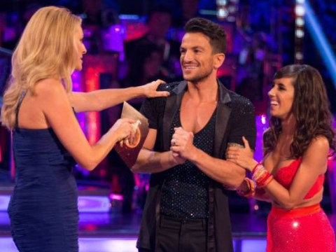 Peter Andre says going commando on Strictly Come Dancing has caused some embarrassing changing room moments