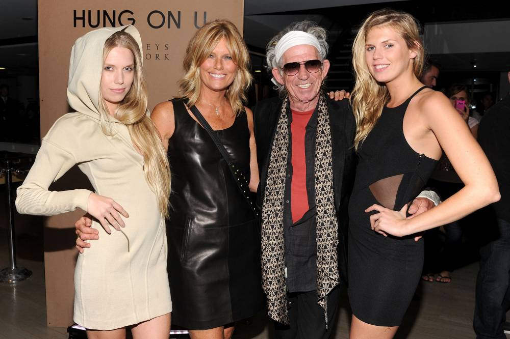 Keith Richards wants his daughters to snort his ashes when he dies – just like he did with his dad