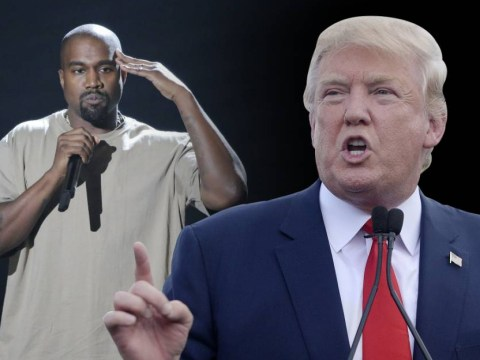Donald Trump seems happy 'nice' Kanye West is running for president