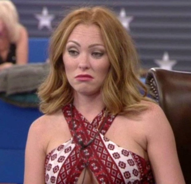 Editorial Use Only Mandatory Credit: Photo by REX Shutterstock (5069075as) Natasha Hamilton 'Celebrity Big Brother: UK vs USA' TV show, Elstree Studios, Hertfordshire, Britain - 11 Sep 2015