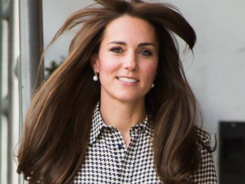This happened to the Duchess of Cambridge's fringe today and women everywhere felt her pain