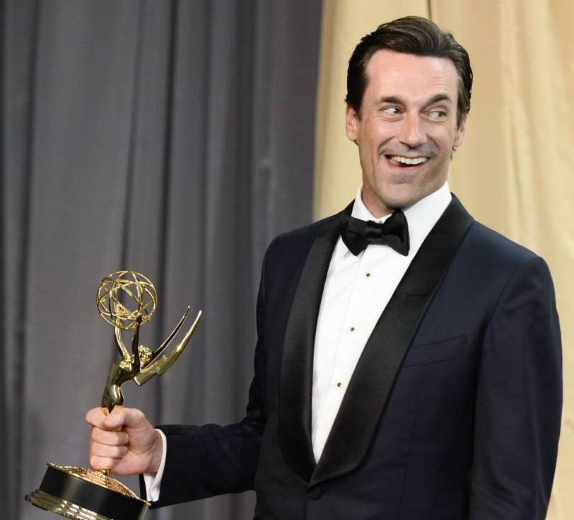 Jon Hamm finally wins his elusive Emmy award after 7 nominations