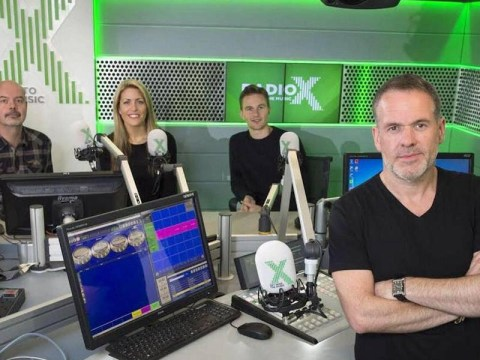 Chris Moyles takes a pop at Nick Grimshaw as he wins the airwaves
