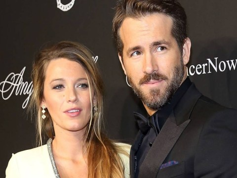 Ryan Reynolds and Blake Lively's relationship goals are strong in this boob-grabbing Instagram post