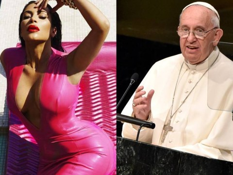 Kim Kardashian gets called out for 'criticising' the pope