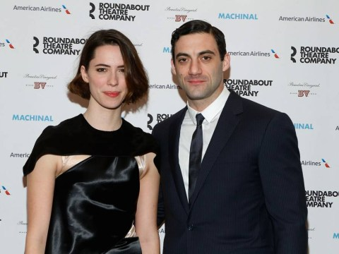 Actress Rebecca Hall got hitched to fellow Broadway star Morgan Spector