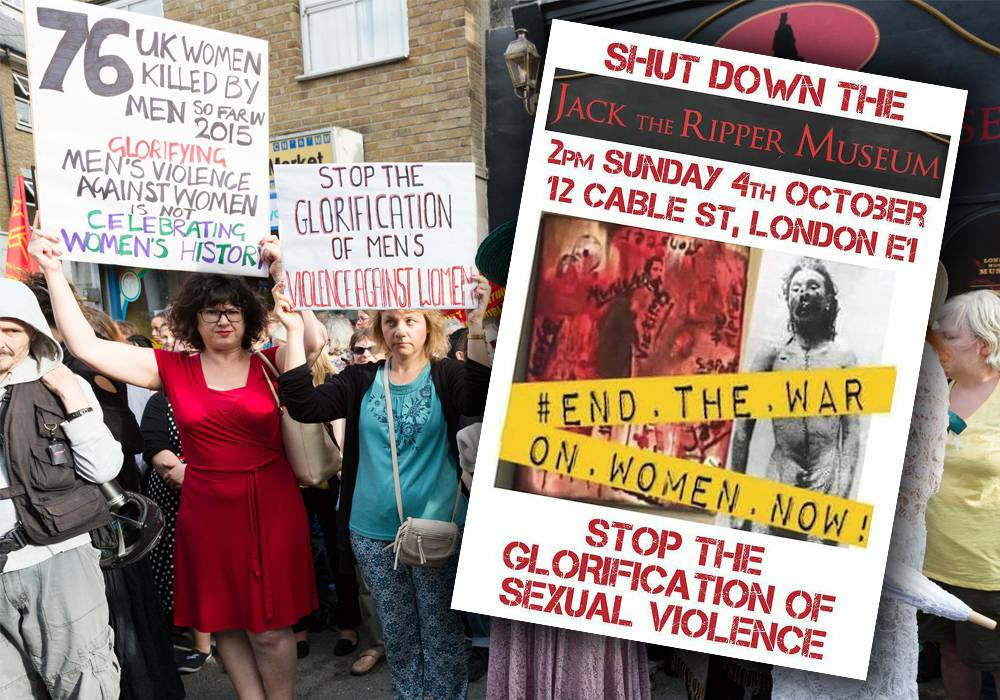 Cereal cafe protesters say they're going to target Jack the Ripper Museum