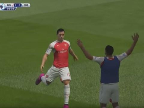 This is what it's like to play as Arsenal in FIFA 16