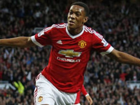 Bookies slash odds on Manchester United's Anthony Martial winning golden boot
