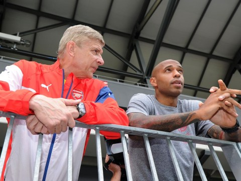 Arsene Wenger has a warning for Thierry Henry's Arsenal management ambitions